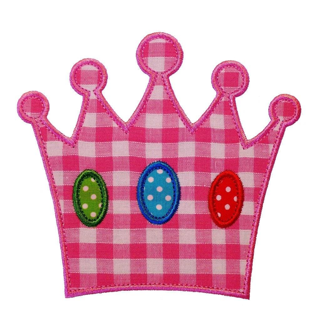 Princess Crown Appliques Machine Embroidery Designs ...