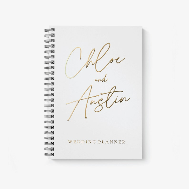 Wedding Planner Personalized Wedding Planning Book image 0