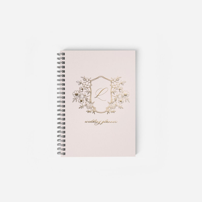 Wedding Planner Personalized Wedding Notebook Wedding Planner image 0
