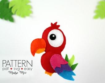 Bird Template   Bird Pattern Etsy