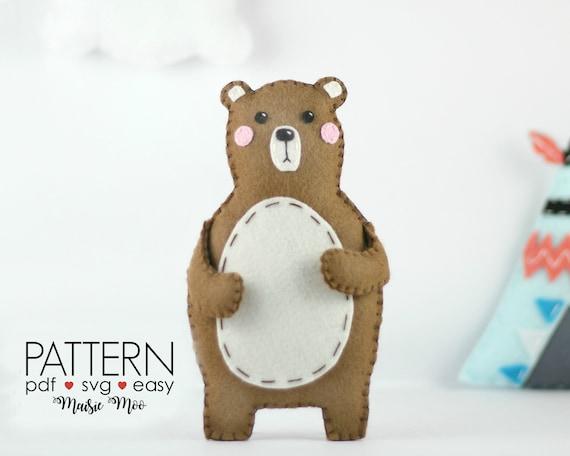 Woodland Bear Ornament