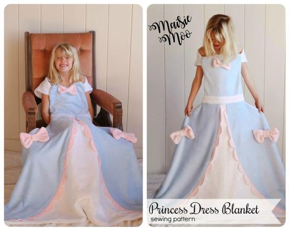 princess blanket pattern fleece blanket beauty and the beast etsy