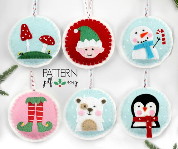 Christmas Shoes Diy.Felt Pattern Christmas Ornaments Pattern Christmas Pattern Christmas Crafts Diy Christmas Ornament Christmas Elf Shoes Snowman Penguin