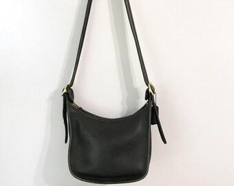 Vintage Black Coach Janice Handbag