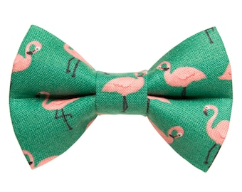 """Cat Bow Tie - """"The Next Stop, Miami'"""" -  Flamingo - LIMITED EDITION"""