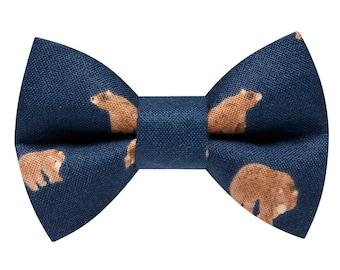 "Cat Bow Tie - ""The Beary Good"" - Bear Print"