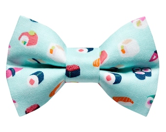 """Cat Bow Tie - """"The Roll Call"""" - Sushi Print"""
