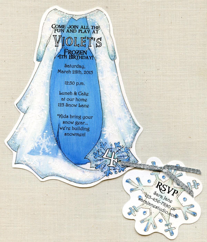 Personalized - Frozen - Elsa - Dress - Birthday - Party ...