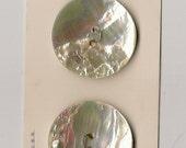 Vintage Schwanda Ocean Pearl Buttons on Card
