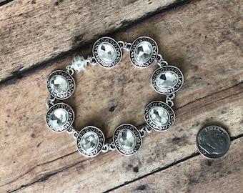 Oval Rhinestone bracelet