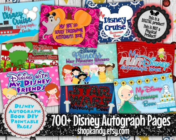 picture regarding Printable Disney Autograph Book called Printable Disney Autograph Reserve Webpages - Electronic Disney Autograph Al - Disney Autograph E-book - Disney Holiday - Disney Cruise Getaway