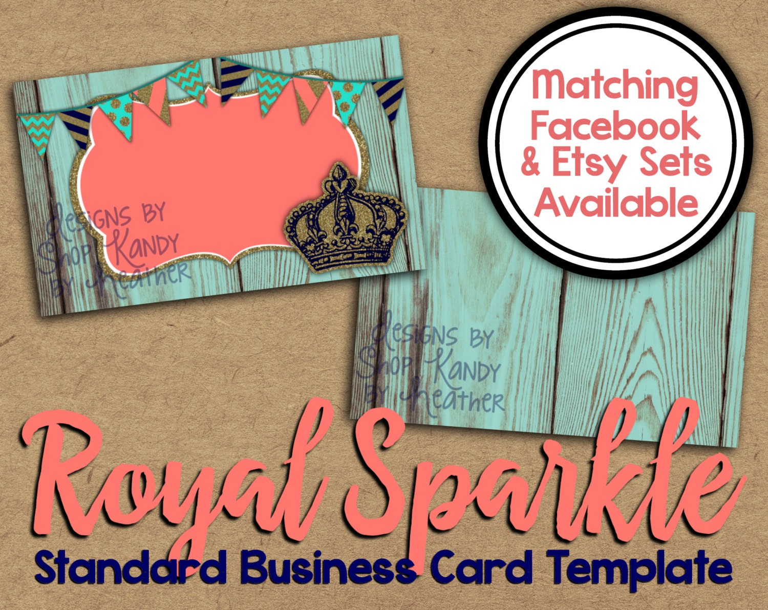 Business card 2 sided wooden glitter business card etsy zoom colourmoves