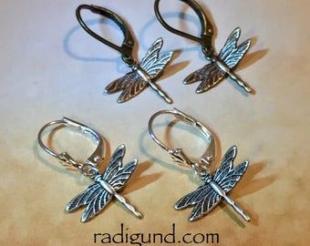 Tiny Dragonfly earrings outlander inspired