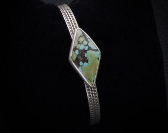 Treasure Mountain Turquoise Diamond Bracelet
