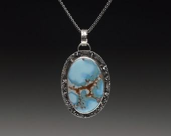 Golden Hills Turquoise Large Oval Pendant