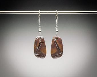 Dendritic Jasper Earrings