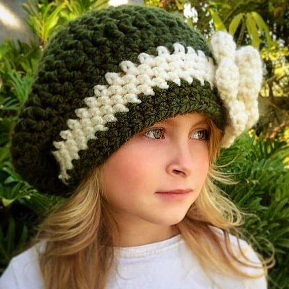 Slouchy Hat Crochet Pattern Crochet Pattern Womens Etsy