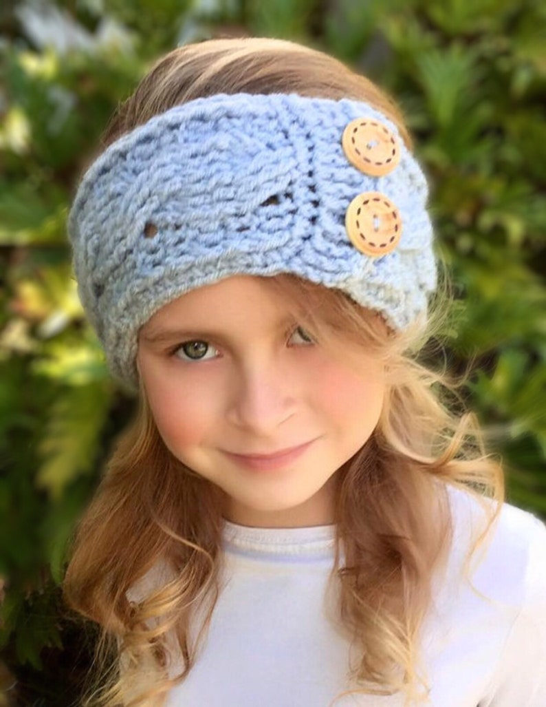 Crochet Head Warmer Headband Earwarmer Honore Head Etsy