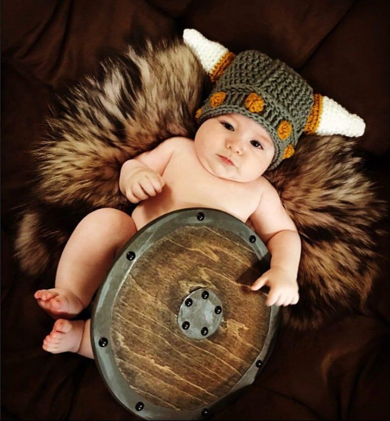 1443f5aed3a Viking Hat Norwegian Hat Viking Helmet Baby Hat Child