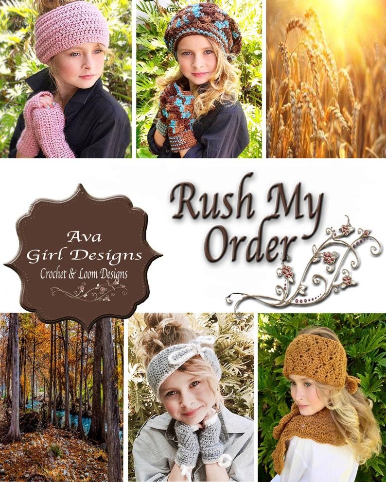 Rush My Order Ava Girl Designs image 0