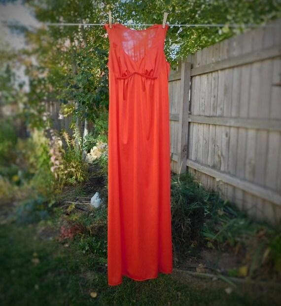 Vintage Vanity Fair Long Nightgown lingerie sleepwear gown | Etsy