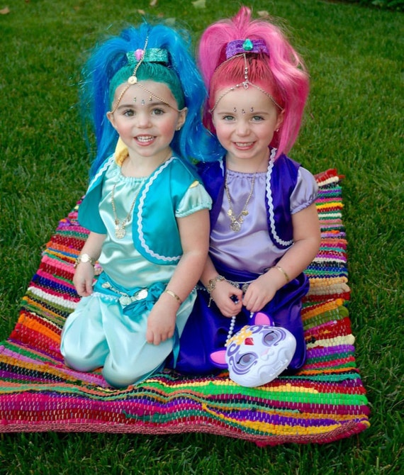 Shimmer and shine costume Halloween dress up party shine | Etsy