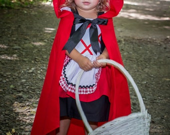 Little Red Riding Hood Costume Custom Boutique Clothing Sassy Girl