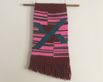 Hot Pink! Woven Wall Hanging