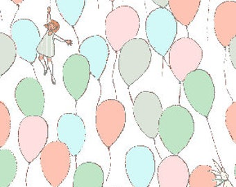 Balloons in soft from the Best of Sarah Jane fabric collection for Michael Miller Fabrics