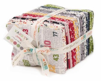 SALE Varsity fat quarter bundle by Sweetwater for Moda