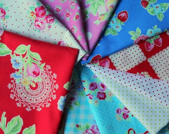 Flower Sugar Janum curated bundle- 10 fat quarters