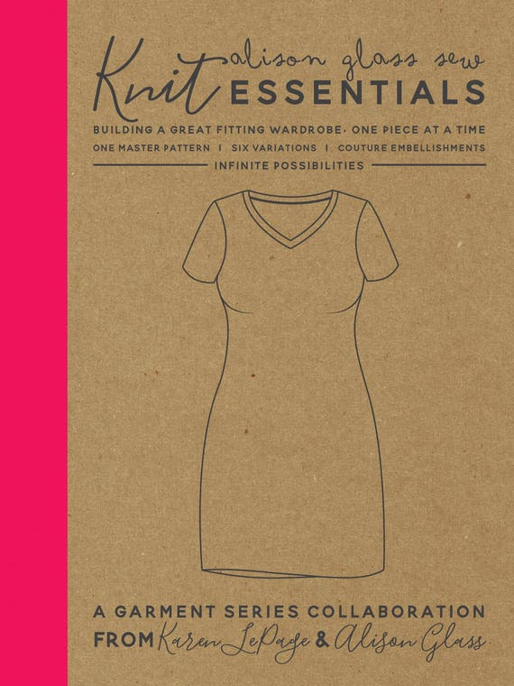 Knit Essentials Garment Sewing Pattern By Alison Glass And Etsy