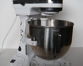 Bling Your Kitchen Mixer: Vinyl, Wall Art, Graphics, Lettering, Decals, Stickers