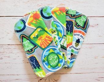 Unpaper Cloth Napkins the Zero Waste paperless wipe