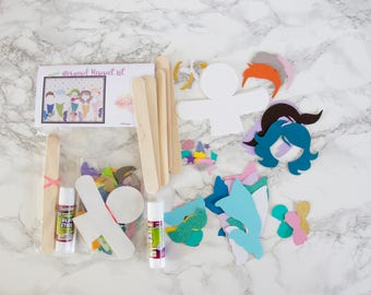 Mermaid Stocking Stuffer Kids Craft Kit