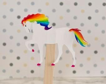 Kids Stocking Stuffer DIY Unicorn craft kit for one, set of 6