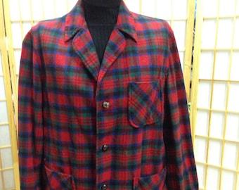 Vintage Pendleton woolen Mills shirt jacket