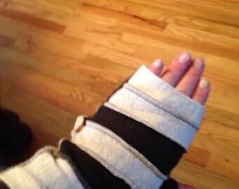 OOAK Handcrafted Fingerless gloves