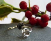 Adjustable ring with ster...