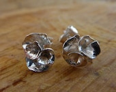 Rose flower stud earrings...