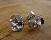 Rose flower stud earrings...