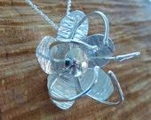 Passion Flower Pendant: H...