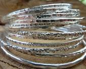 Stacking bangles (set of ...