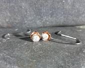 Silver Rose and Copper fl...