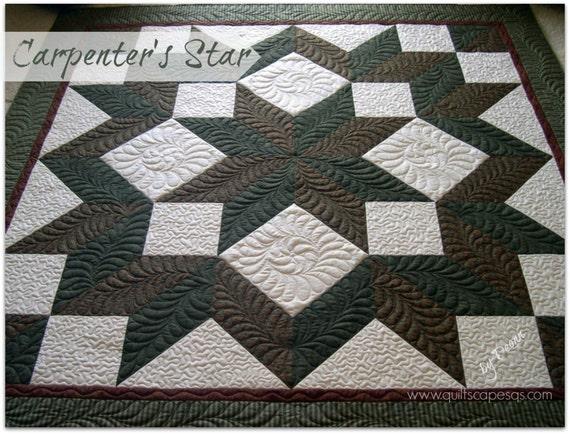 Carpenters Star Quilt Pattern