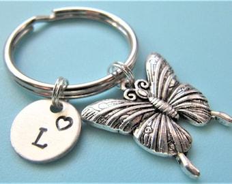 Butterfly keychain  25e84f60a7ba