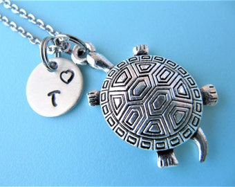 Turtle Necklace, Turtle Jewelry, Turtle Charm Necklace, Turtle Jewelry Gift, Tortoise Charm Necklace, Tortoise Lover Gift, Tortoise Necklace
