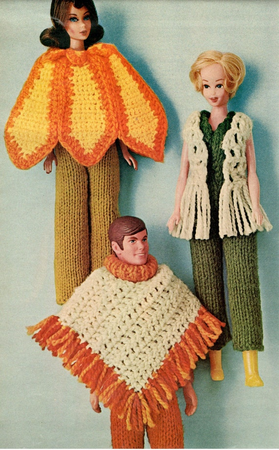Barbie Doll Knitting Pattern Barbie Clothes Dolls Clothes Etsy