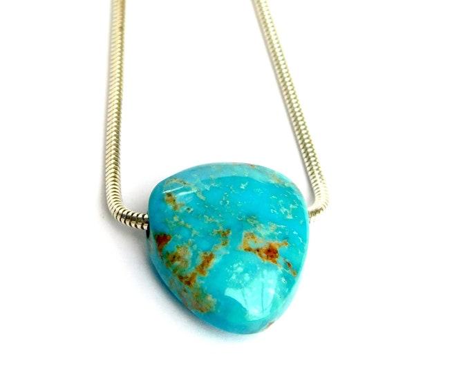 """""""Zuri"""" Turquoise Necklace"""