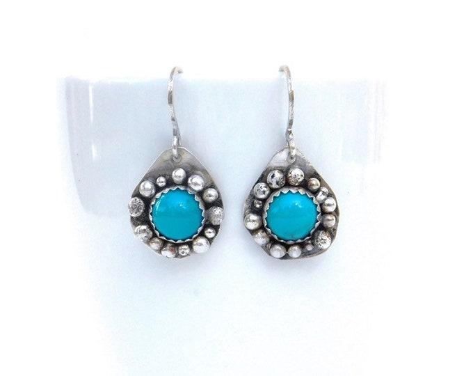 """Aurora"" Sleeping Beauty Turquoise Earrings"